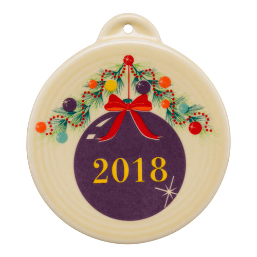 Christmas Tree 2018 Ornament
