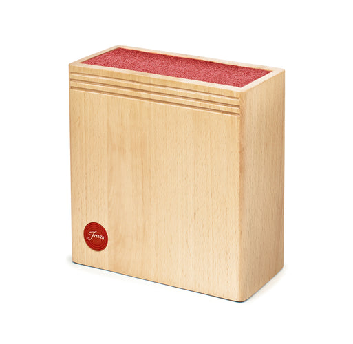 Fiesta® Wood Bristle Block - Scarlet, Cutlery - Fiesta Factory Direct by Homer Laughlin China.  Dinnerware proudly made in the USA.