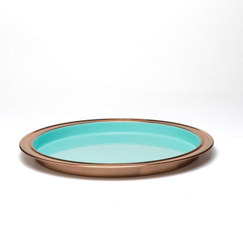 Fiesta® Copper 14 inch Bar Tray - Turquoise
