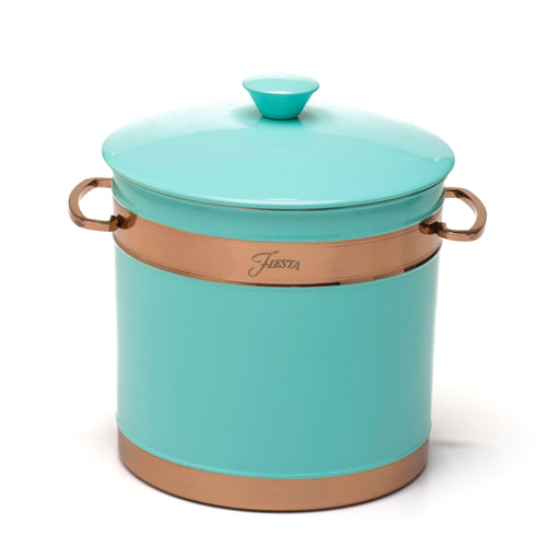 Fiesta® Copper 3 Quart Ice Bucket - Turquoise