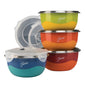 Fiesta® 8 piece Microwave Safe Prep Bowl Set
