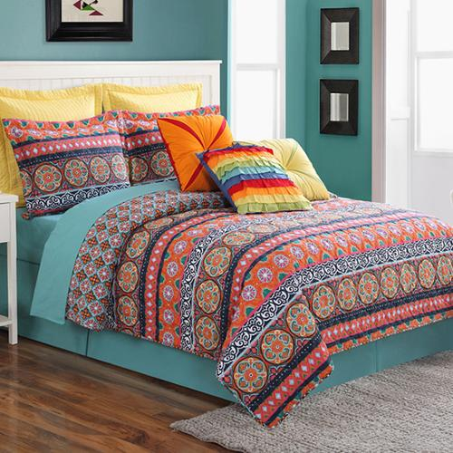 Carman Quilt Set, Bedding - Fiesta Factory Direct by Homer Laughlin China.  Dinnerware proudly made in the USA.