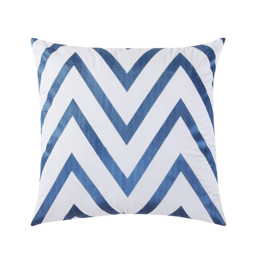 Chevron Pillow 18x18, Bedding - Fiesta Factory Direct by Homer Laughlin China.  Dinnerware proudly made in the USA.