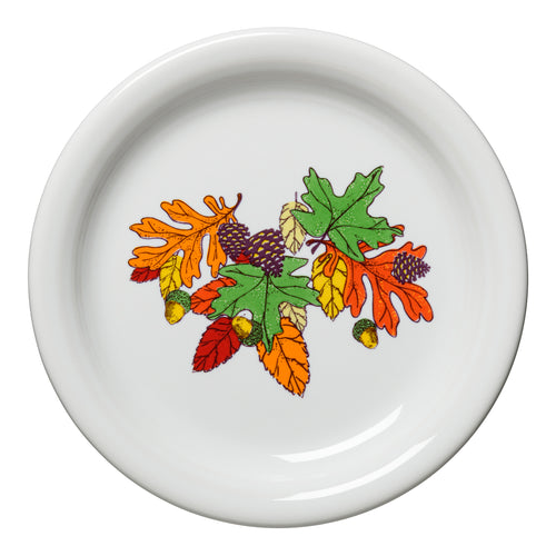 Fall Fantasy Brights Appetizer Plate, fiesta® Fall Fantasy Brights - Fiesta Factory Direct by Homer Laughlin China.  Dinnerware proudly made in the USA.