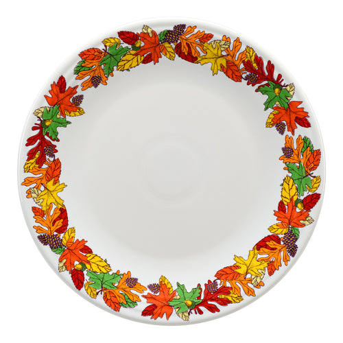 Fall Fantasy Brights Chop Plate, fiesta® Fall Fantasy Brights - Fiesta Factory Direct by Homer Laughlin China.  Dinnerware proudly made in the USA.