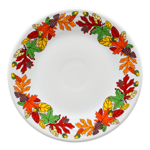 Fall Fantasy Brights Luncheon Plate, fiesta® Fall Fantasy Brights - Fiesta Factory Direct by Homer Laughlin China.  Dinnerware proudly made in the USA.