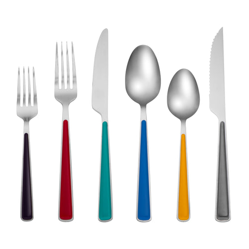 Fiesta® Merengue 24-piece Flatware Set with Steak Knives, Flatware - Fiesta Factory Direct by Homer Laughlin China.  Dinnerware proudly made in the USA.