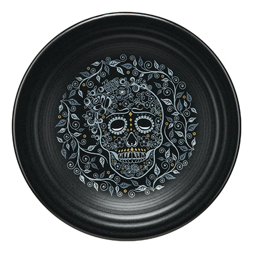 luncheon plate Skull and Vine (465)