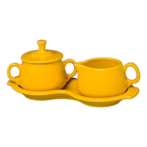 Sugar and Cream Tray Set Daffodil (821)