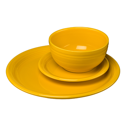 3pc Bistro Place Setting  sc 1 st  Daffodil u2013 Fiesta Factory Direct & Daffodil u2013 Fiesta Factory Direct
