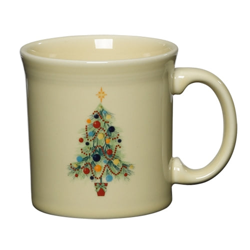 Christmas Tree Java Mug, fiesta® christmas tree - Fiesta Factory Direct by Homer Laughlin China.  Dinnerware proudly made in the USA.