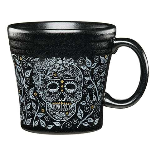 Tapered Mug Skull and Vine (1475)