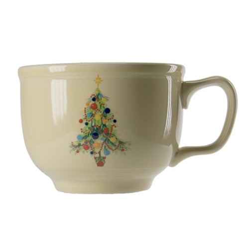 Christmas Tree Jumbo Cup, fiesta® christmas tree - Fiesta Factory Direct by Homer Laughlin China.  Dinnerware proudly made in the USA.
