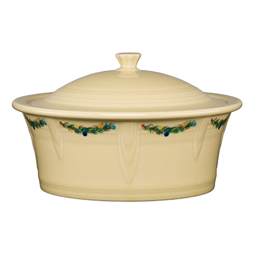 Large Covered Casserole Christmas Tree 90oz. (1466)