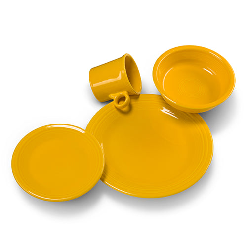 4pc Place Setting - Fiesta Factory Direct