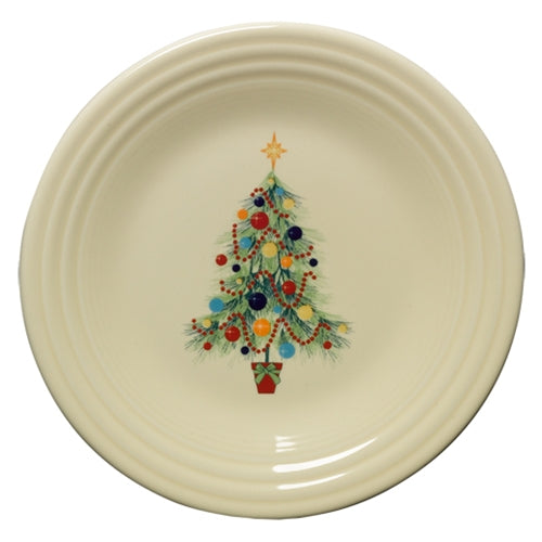 Christmas Tree Luncheon Plate, fiesta® christmas tree - Fiesta Factory Direct by Homer Laughlin China.  Dinnerware proudly made in the USA.