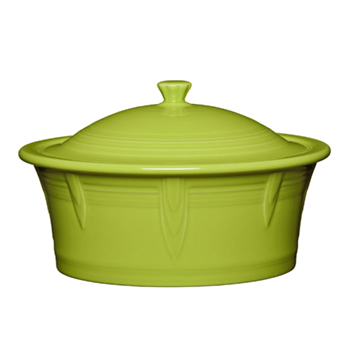 Large Covered Casserole, bakeware - Fiesta Factory Direct by Homer Laughlin China.  Dinnerware proudly made in the USA.