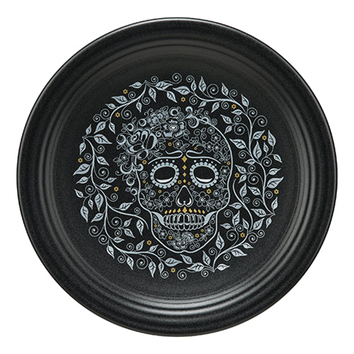 Chop Plate SKULL AND VINE, fiesta® SKULL AND VINE - Fiesta Factory Direct by Homer Laughlin China.  Dinnerware proudly made in the USA.