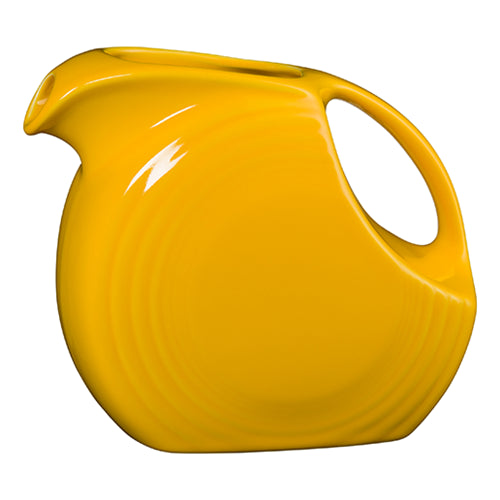 Large Disc Pitcher, pitchers, carafes and teapots - Fiesta Factory Direct by Homer Laughlin China.  Dinnerware proudly made in the USA.
