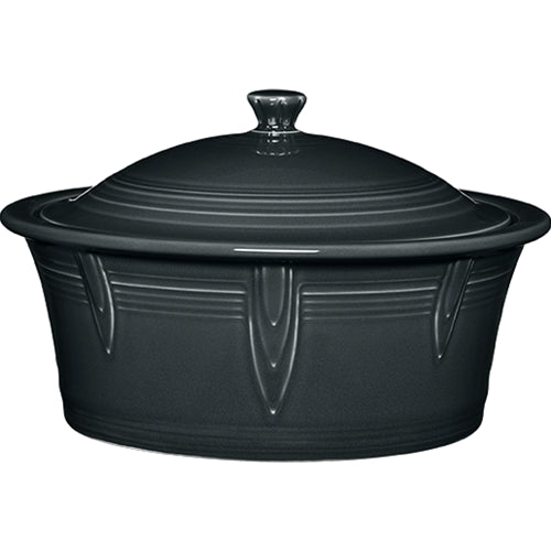 Large Covered Casserole Slate 90oz. (1466)