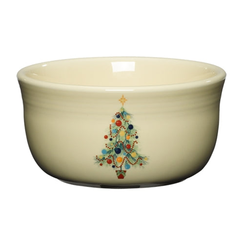 Christmas Tree Gusto Bowl, fiesta® christmas tree - Fiesta Factory Direct by Homer Laughlin China.  Dinnerware proudly made in the USA.