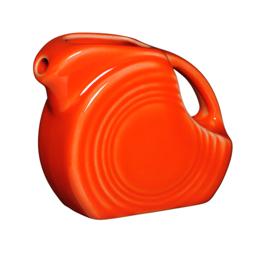 Mini Disk Pitcher, pitchers, carafes and teapots - Fiesta Factory Direct by Homer Laughlin China.  Dinnerware proudly made in the USA.