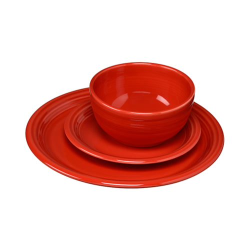 3 Piece Bistro Place Setting Scarlet (1482)