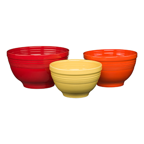 3pc Baking Bowl Set, bowls - Fiesta Factory Direct by Homer Laughlin China.  Dinnerware proudly made in the USA.