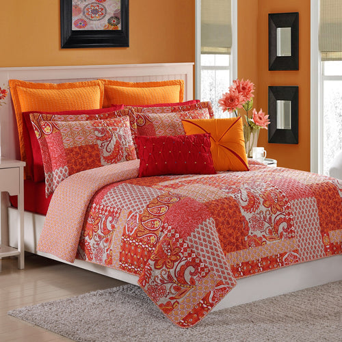 Marchia Quilt Set, Bedding - Fiesta Factory Direct by Homer Laughlin China.  Dinnerware proudly made in the USA.