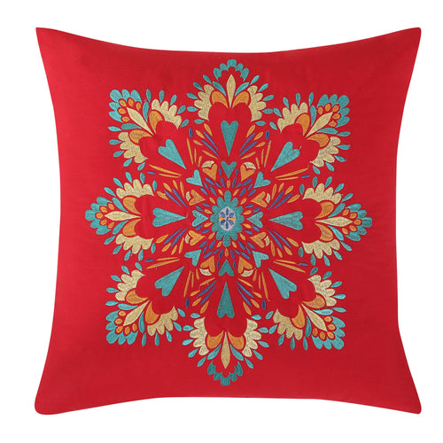 "Medallion 18"" Decorative Pillow, Bedding - Fiesta Factory Direct by Homer Laughlin China.  Dinnerware proudly made in the USA."