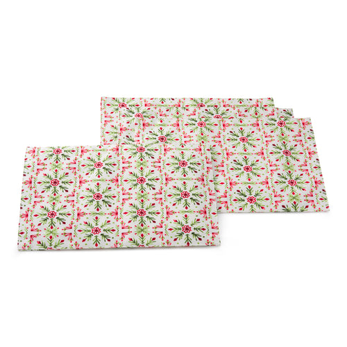 Winter Wonder 4 pack Place mats, linens - Fiesta Factory Direct by Homer Laughlin China.  Dinnerware proudly made in the USA.