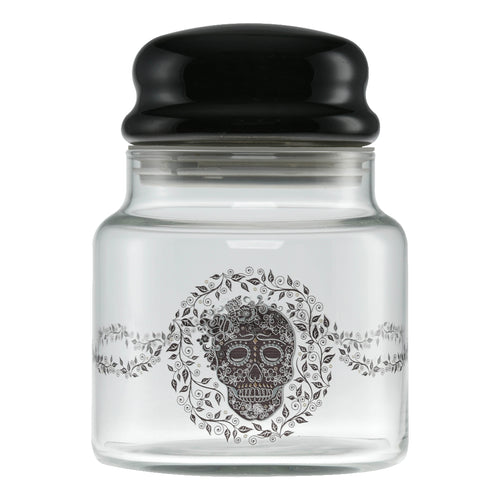 16 oz. Fiesta® SKULL AND VINE Treat Jar