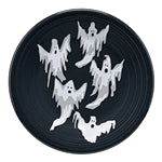 Ghosts Luncheon Plate, fiesta® halloween - Fiesta Factory Direct by Homer Laughlin China.  Dinnerware proudly made in the USA.