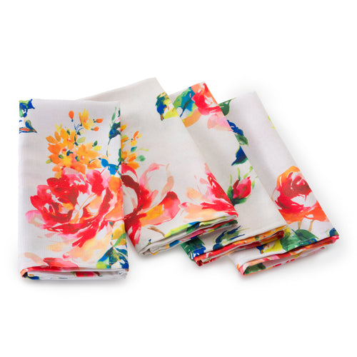 Floral Bouquet 4 pack Napkins