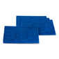 Global Geo Rib 4 pack Place mats Lapis