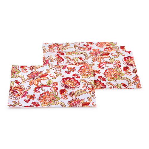 Barbados Jacobean 4 pack Place mats, linens - Fiesta Factory Direct by Homer Laughlin China.  Dinnerware proudly made in the USA.