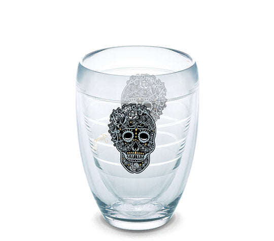 Fiesta® Skull and Vine Stemless Wine