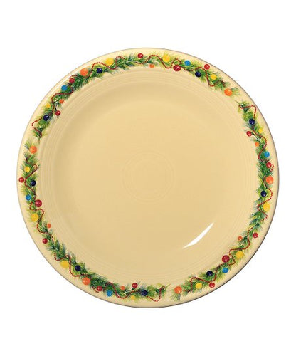 Christmas Tree Dinner Plate, fiesta® christmas tree - Fiesta Factory Direct by Homer Laughlin China.  Dinnerware proudly made in the USA.