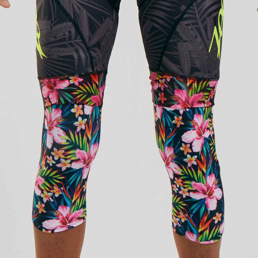 Zoot Sports ACCESSORIES UNISEX LTD CYCLE KNEE WARMER - ALOHA ALWAYS