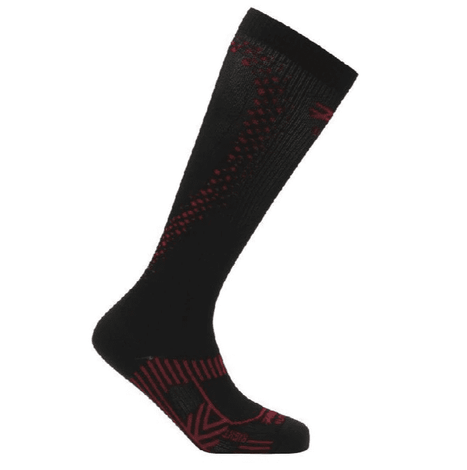 Zoot Sports COMPRESSION MENS ULTRA 2.0 CRX SOCK - BLACK ZOOT RED