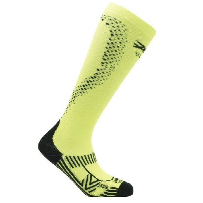 Zoot Sports COMPRESSION MENS ULTRA 2.0 CRX SOCK - SAFETY YELLOW BLACK