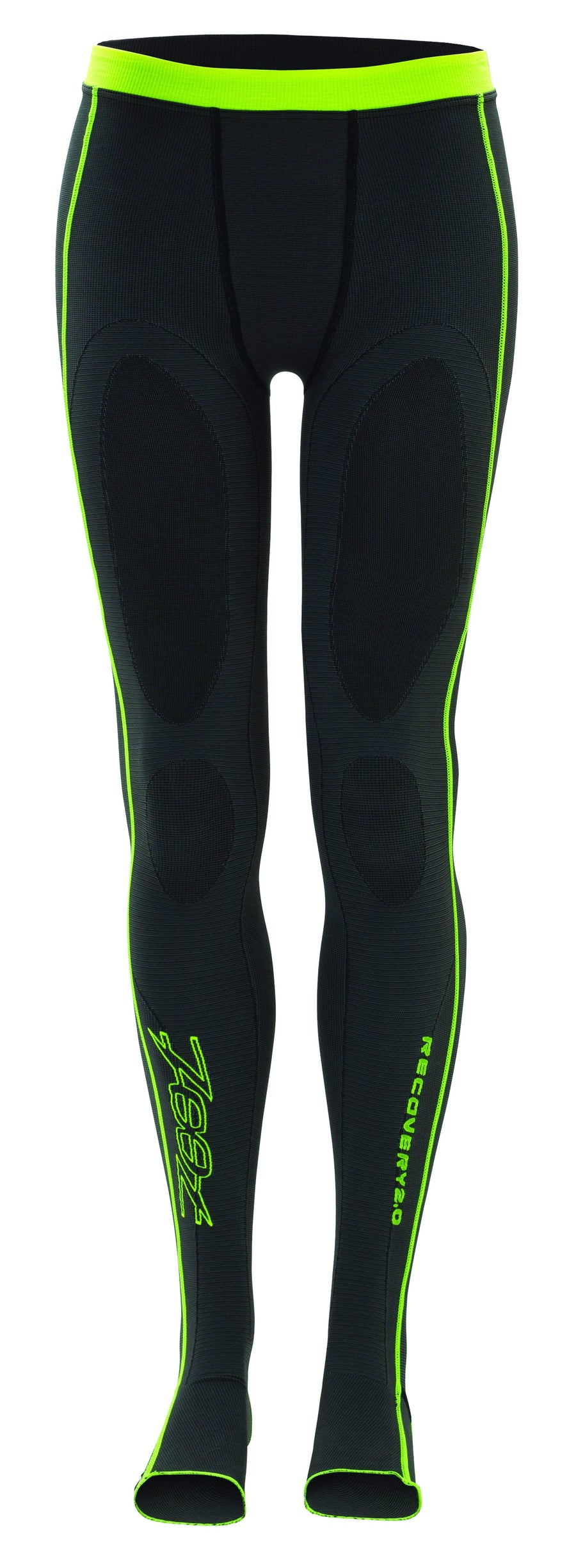 Zoot Sports COMPRESSION MENS ULTRA 2.0 CRX TIGHT - BLACK SAFETY YELLOW