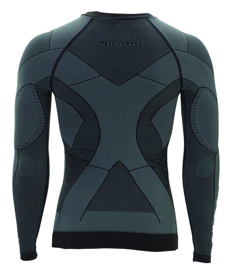 Zoot Sports COMPRESSION UNISEX ULTRA RECOVERY 2.0 CRX LS TOP - GRAPHITE BLACK