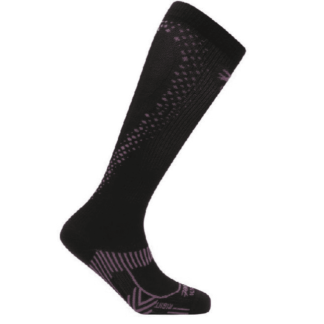 Zoot Sports COMPRESSION WOMENS ULTRA 2.0 CRX SOCK - BLACK PINK GLOW