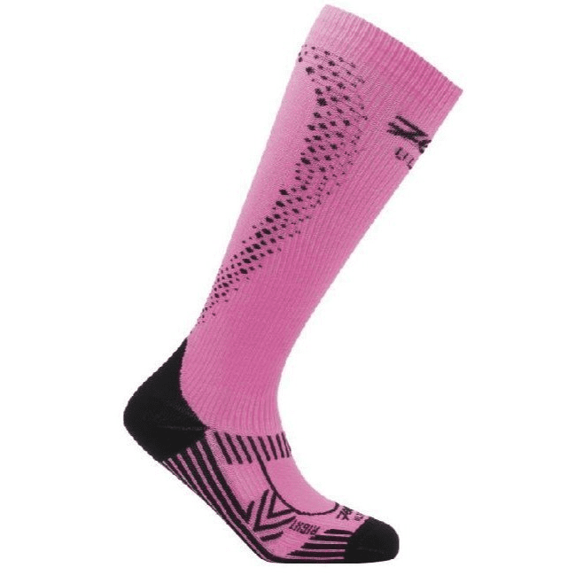 Zoot Sports COMPRESSION WOMENS ULTRA 2.0 CRX SOCK - PINK GLOW BLACK