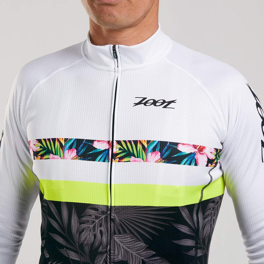 Zoot Sports CYCLE APPAREL MENS LTD CYCLE THERMO JERSEY - ALOHA ALWAYS