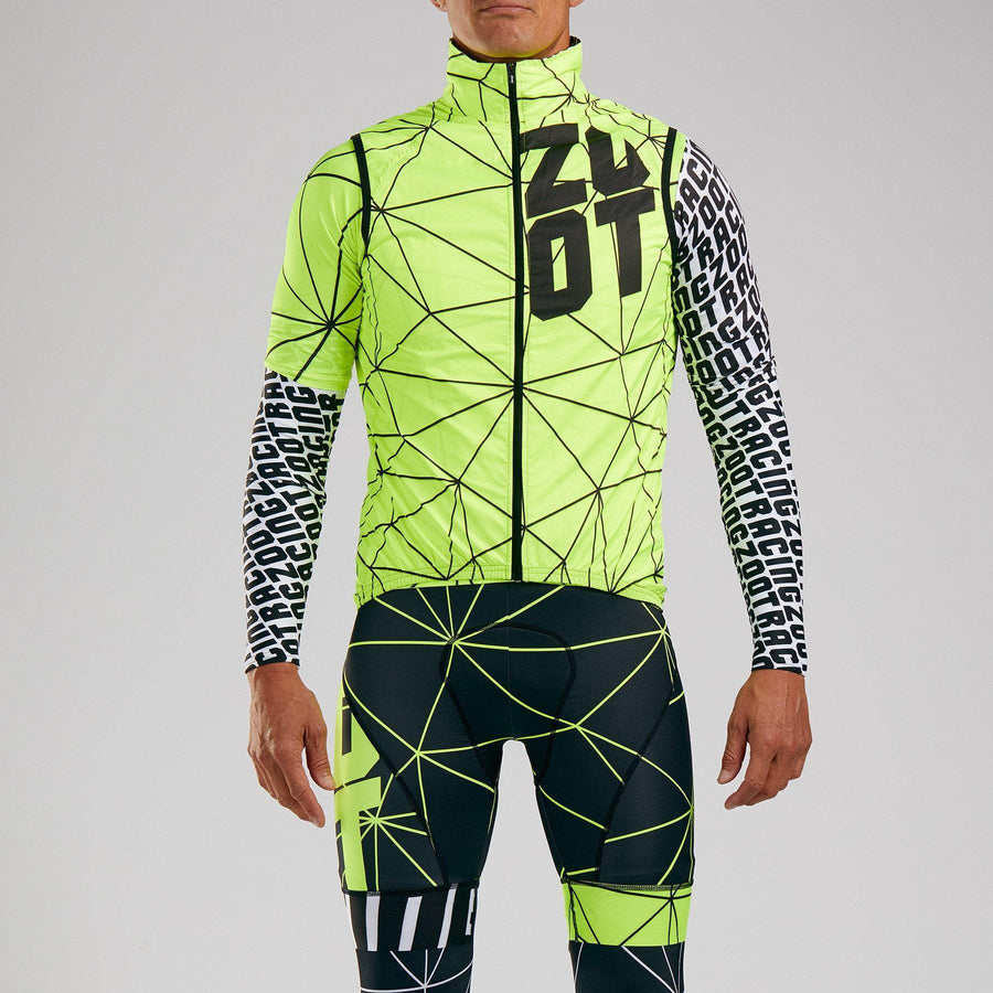 Zoot Sports CYCLE APPAREL MENS LTD CYCLE VEST - NEON RACING