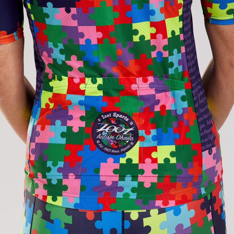 Zoot Sports CYCLE APPAREL WOMENS LTD CYCLE AERO JERSEY - AUTISM OHANA