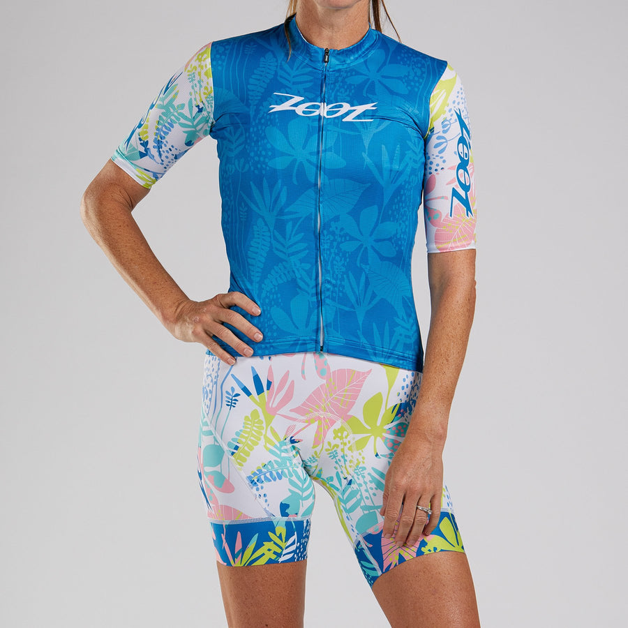 Zoot Sports CYCLE APPAREL WOMENS LTD CYCLE AERO JERSEY - SALTY