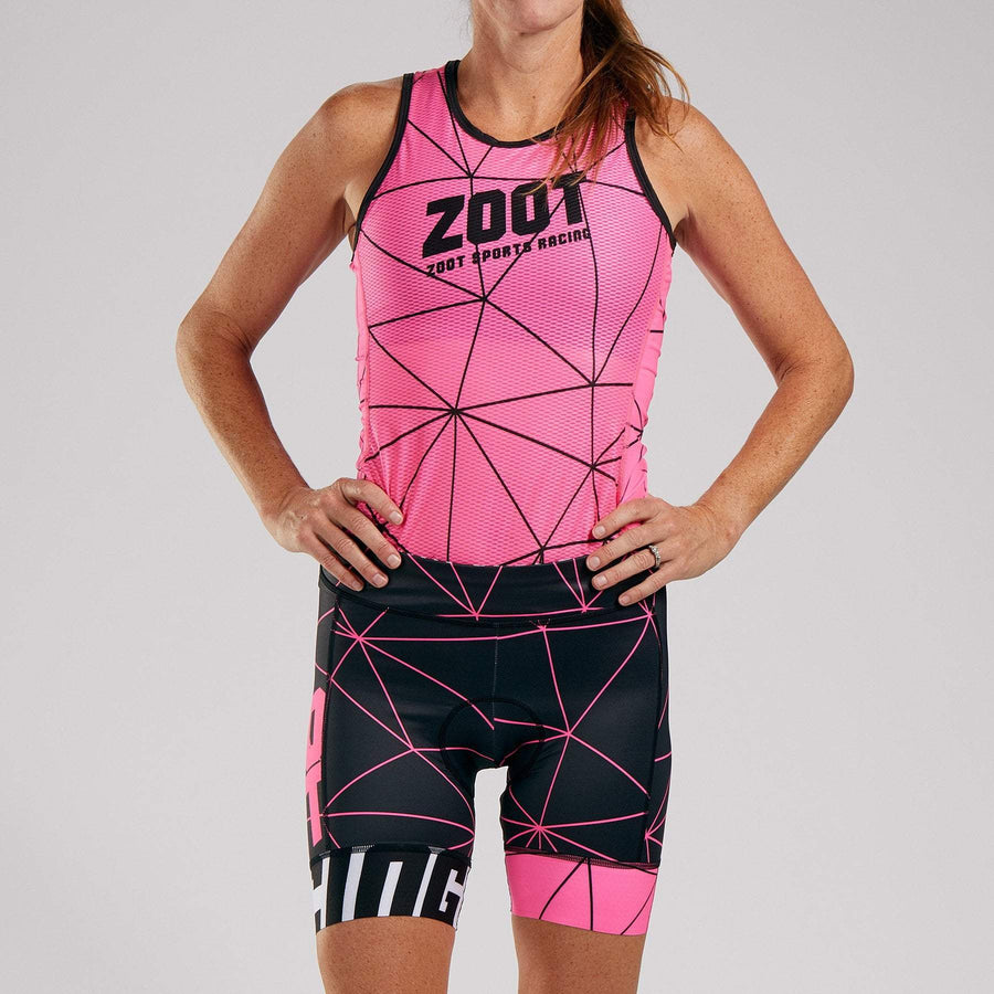 Zoot Sports CYCLE APPAREL WOMENS LTD CYCLE SHORT - NEON RACING